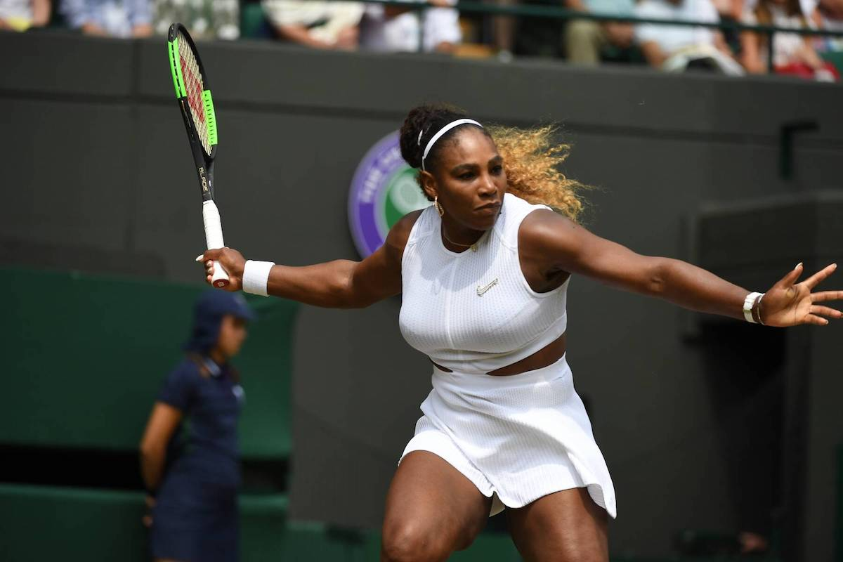 Wimbledon: Serena Williams träumt weiter vom Grand-Slam-Rekord