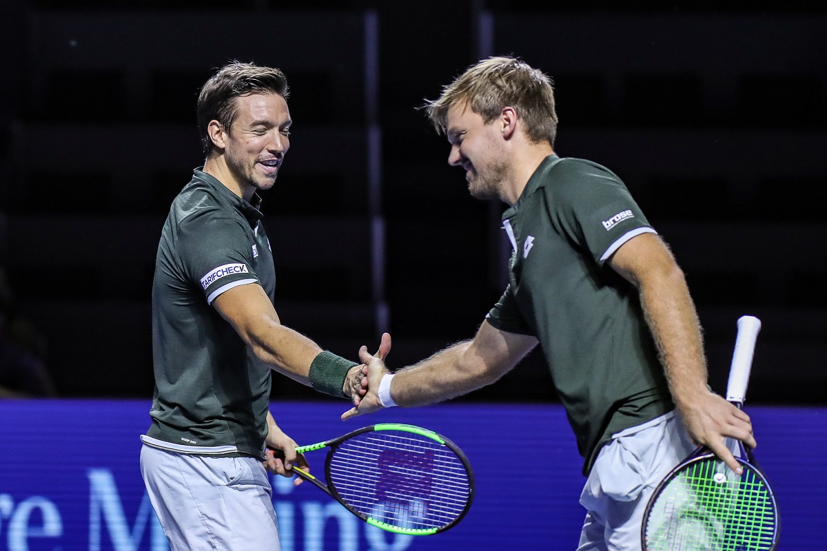 ATP Finals: Kevin Krawietz/Andreas Mies begeistern auch in London