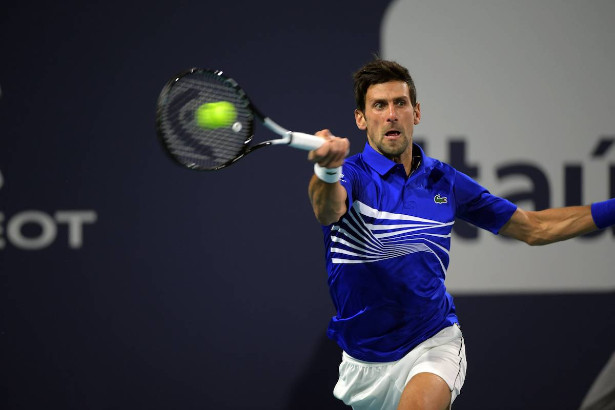 ATP Miami: Novak Djokovic besiegt Bernard Tomic