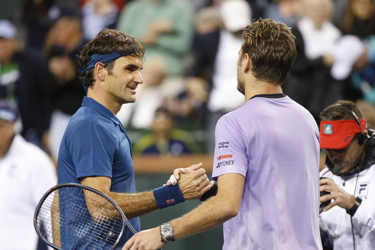 ATP Indian Wells: Roger Federer dominates Swiss duel