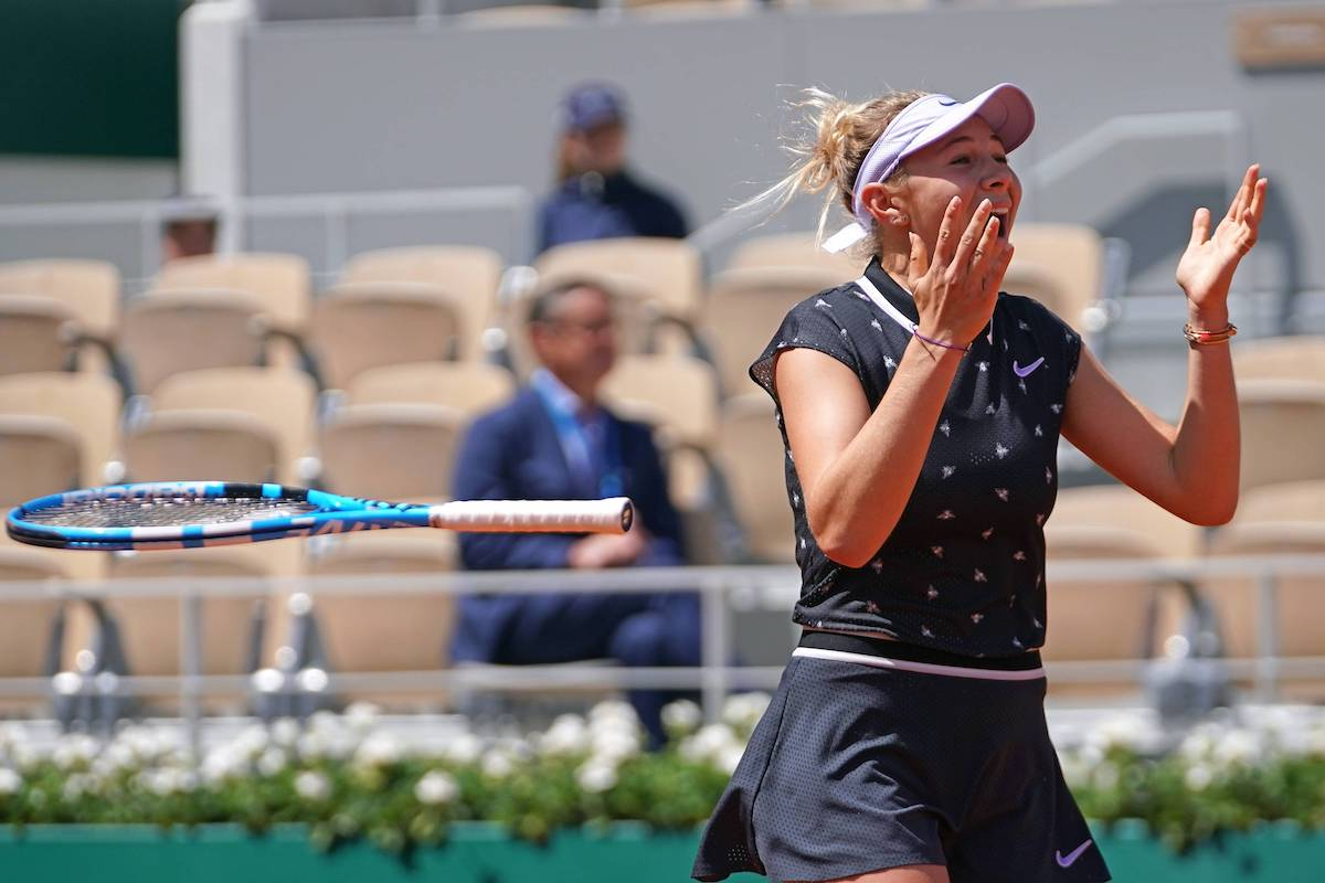French Open: Tennis-Wunderkind Anisimova über die Sensation
