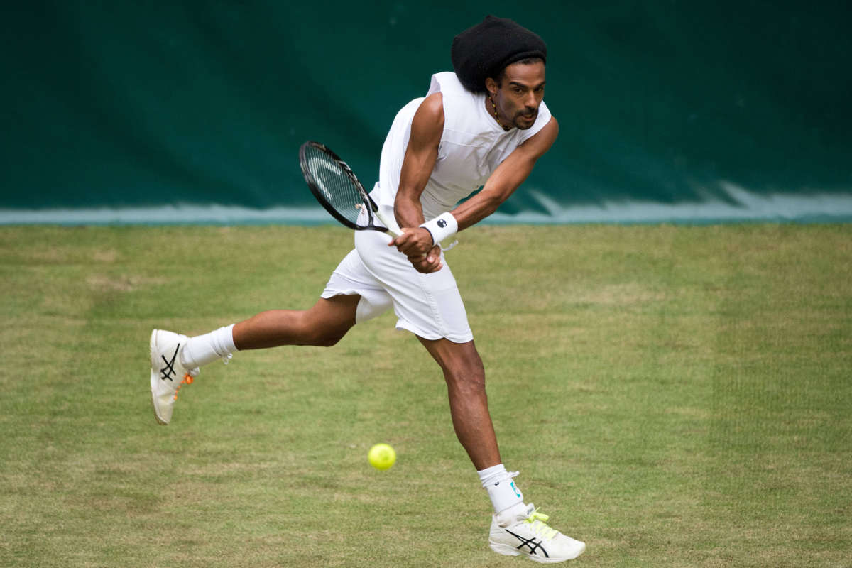 Wimbledon-Quali: Dustin Brown lässt es in Roehampton krachen