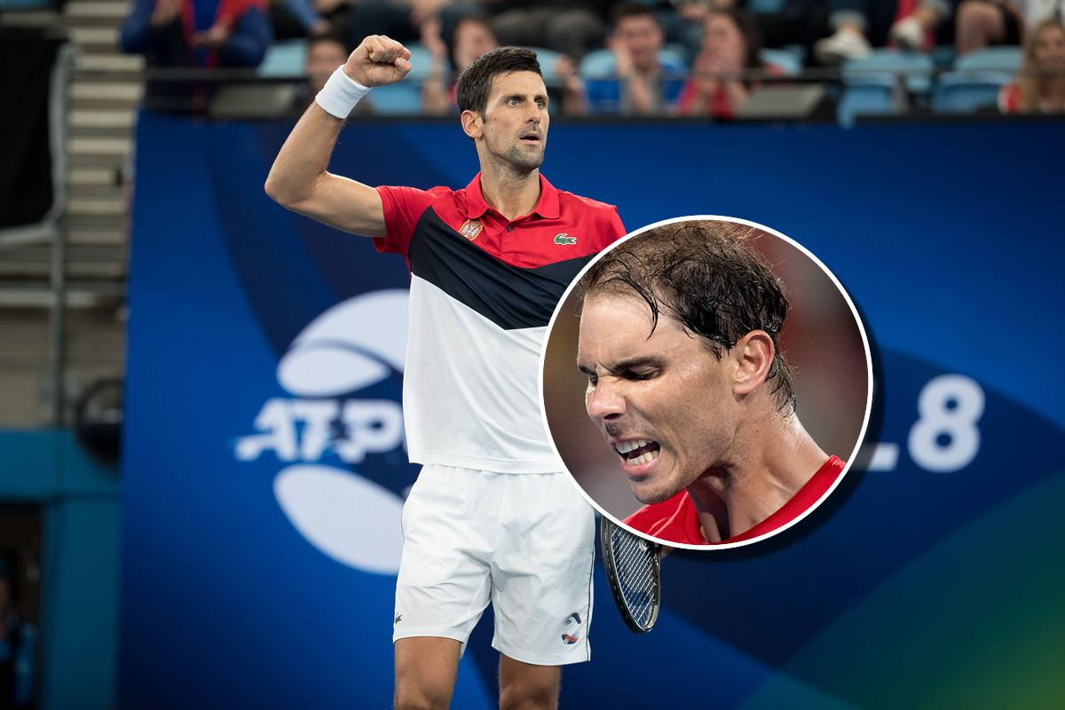 Atp Cup Djokovic Equalizes And Remains Nadal S Hard Court Nightmare Mytennis News