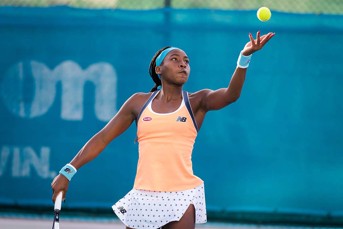 """Coco"" Gauff pays the hardship against the seeded Greek"
