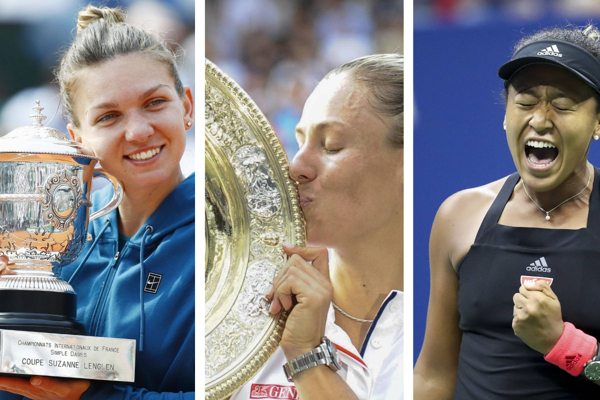 """By the Numbers"": Halep, Kerber & Co. – Die Gewinnerinnen 2018"
