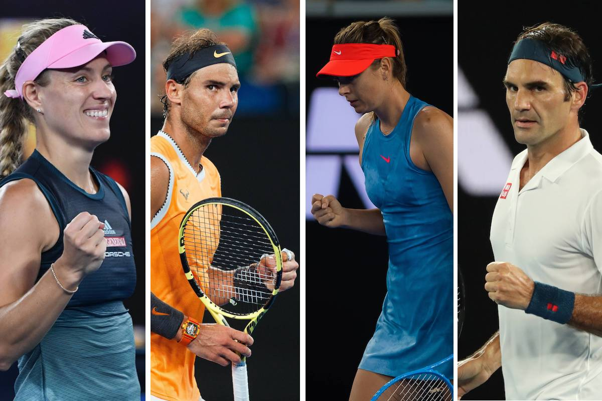 Australian Open: Die Match-Highlights am Middle Sunday