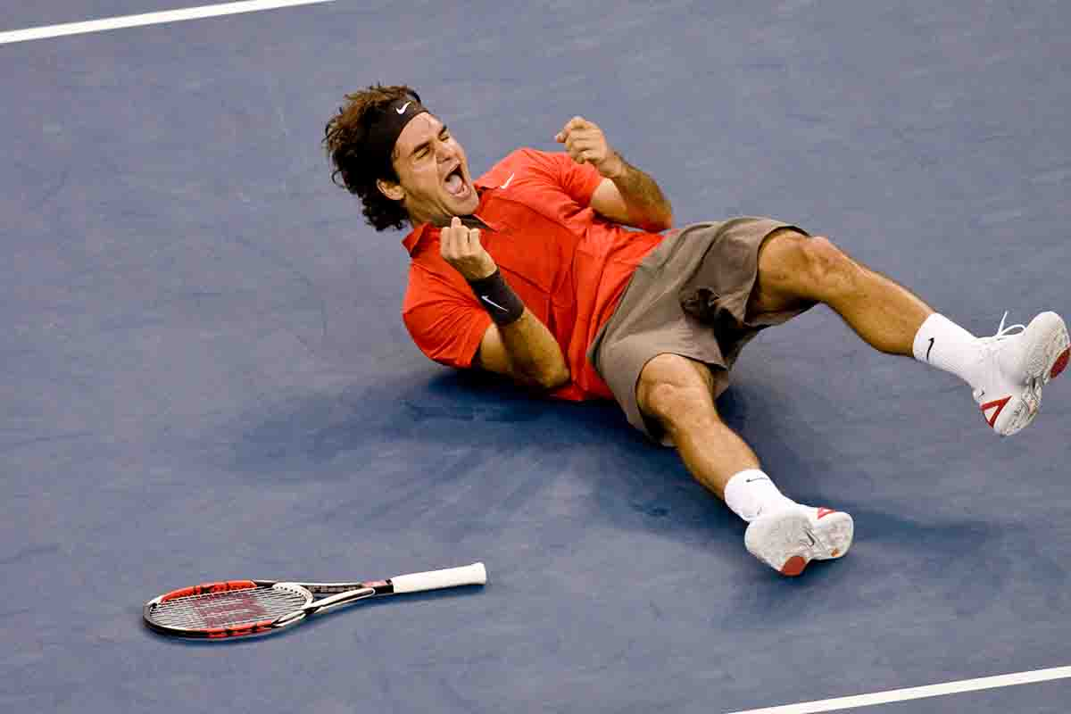 12 years ago: When Roger made the quintuple