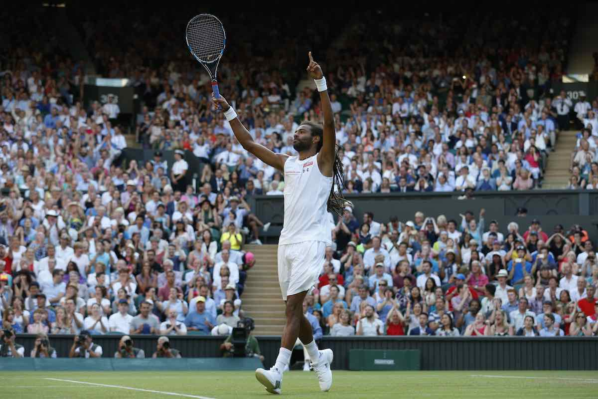 Dustin Brown Wimbledon 2021