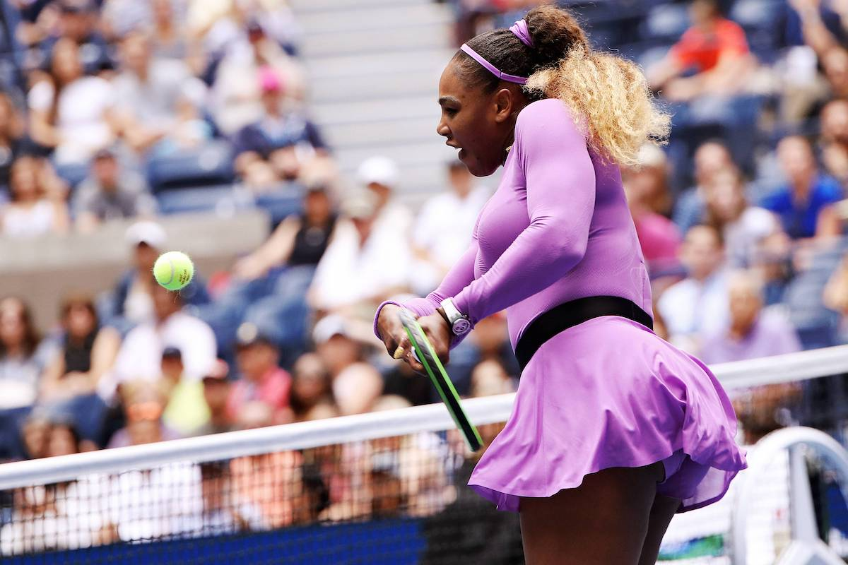 US Open: Serena Williams zieht ins Viertelfinale ein