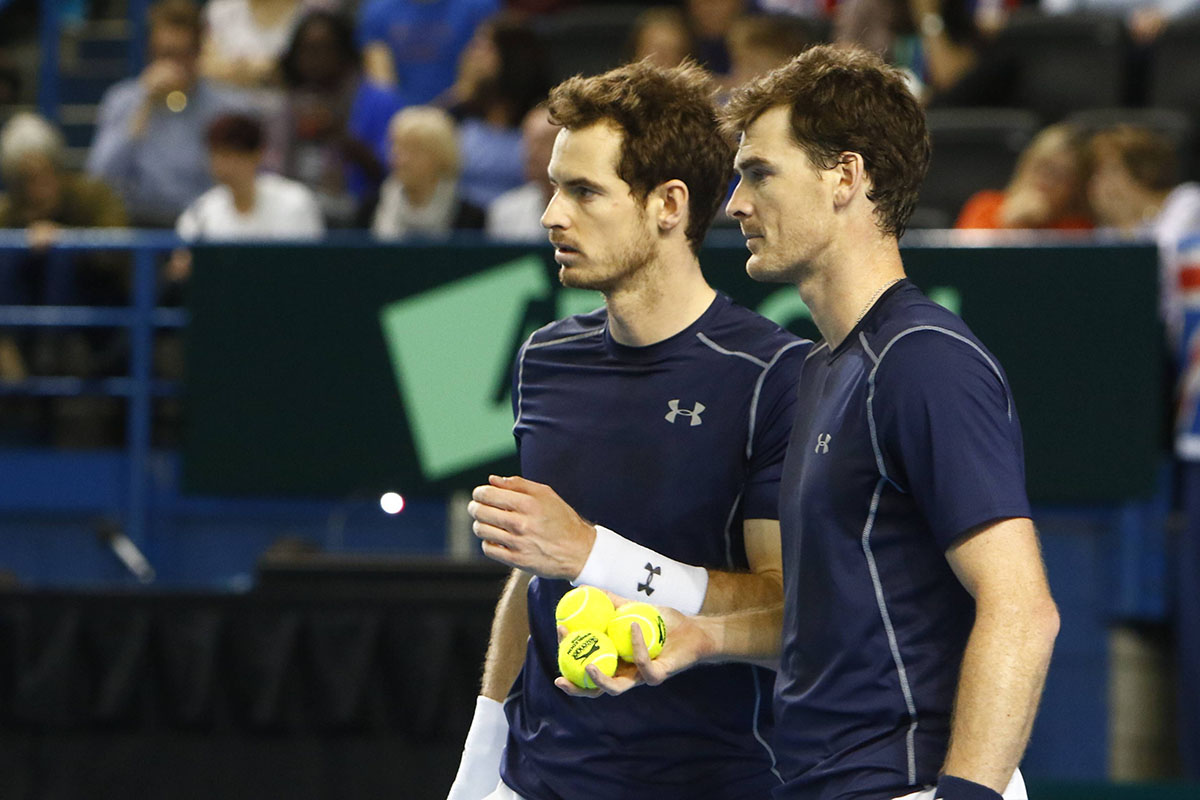 ATP Washington: Andy Murray spielt Doppel mit Bruder Jamie